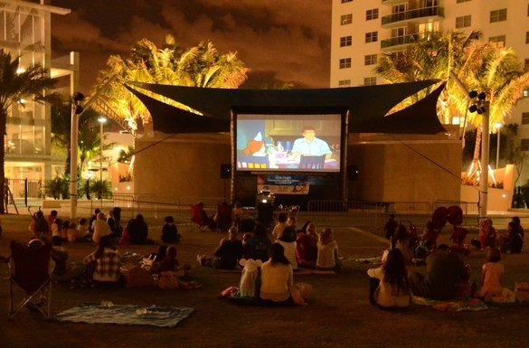 Family movie night at heritage park 585 xxx q85
